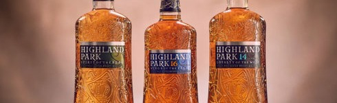 Highland Park - travel retail whisky