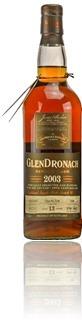 GlenDronach 2003 cask #5489