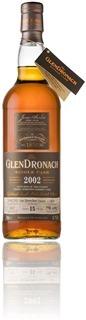 GlenDronach 2002 - PX cask 4648