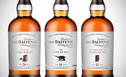 The Balvenie stories 12 / 14 / 26 Years