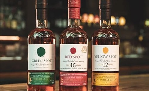 Green Spot / Red Spot / Yellow Spot whiskey