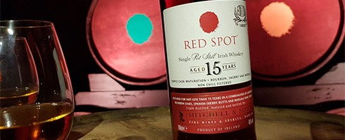 Red Spot 15 Years whiskey