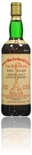 Port Ellen 12 Years - James McArthur for Scoma