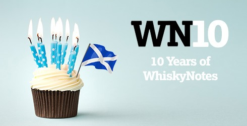 WhiskyNotes 10th Anniversary