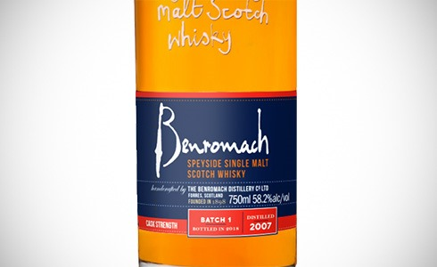 Benromach Cask Strength Batch 1