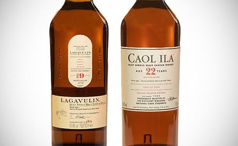 Lagavulin 19 Years - Caol Ila 22 Years - Feis Ile 2019