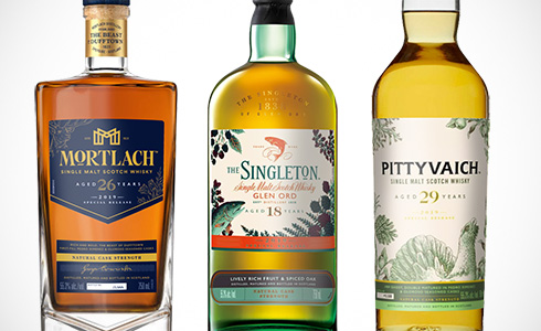 Diageo Special Releases: Mortlach, Glen Ord, Pittyvaich
