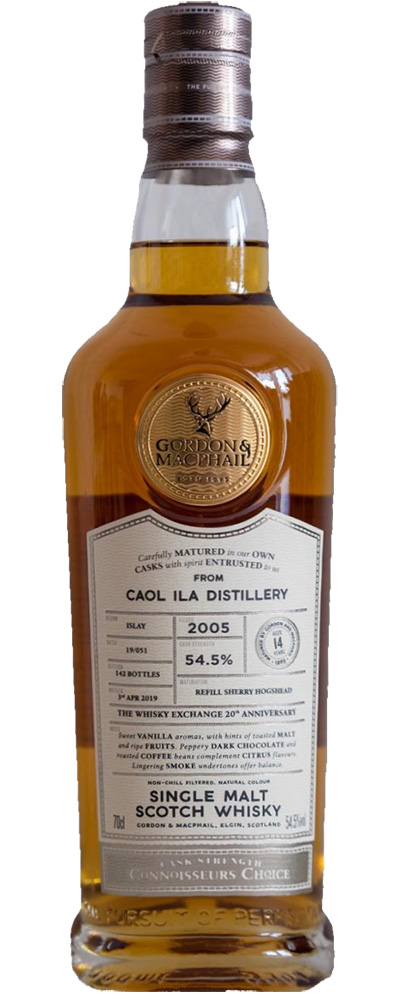 Caol Ila 2005 (G&M for The Whisky Exchange)
