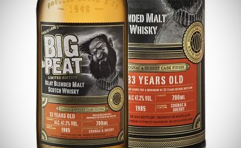 Big Peat 33 Years - cognac & sherry