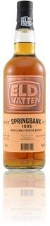Springbank 1995 sherry - Svenska Eldvatten