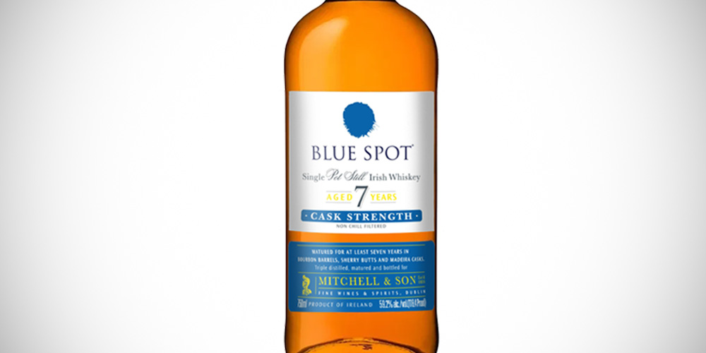 Blue Spot whiskey 7 Year Old