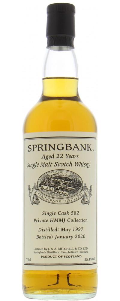 Springbank 1997 Private Cask #582 (HMMJ)