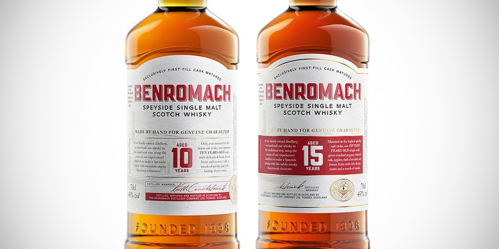 Benromach redesign