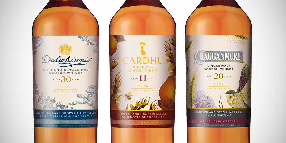 Special Releases 2020: Cardhu / Cragganmore / Dalwhinnie