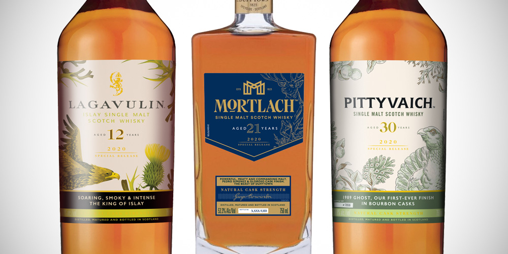Special Releases 2020: Lagavulin / Mortlach / Pittyvaich