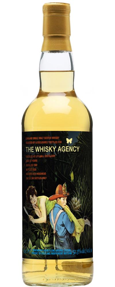 Littlemill 1992 (The Whisky Agency)