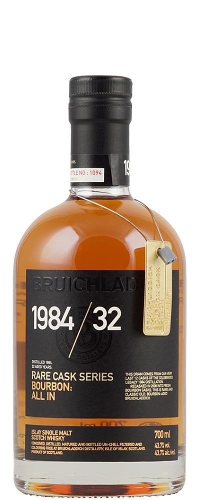 Bruichladdich 1984 / 32 (Rare Cask Series)