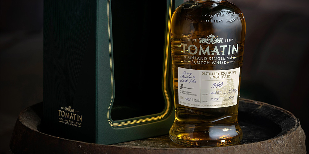 Tomatin 1990 distillery exclusive