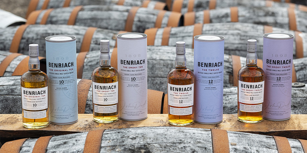 BenRiach new core range 2020