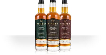 Bimber single cask: bourbon, virgin oak, sherry cask