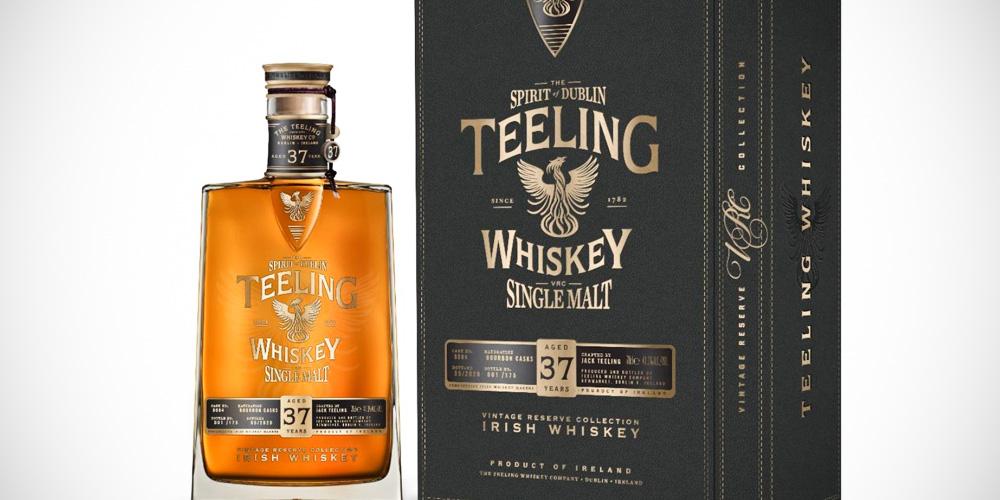 Teeling 37 Year Old whiskey