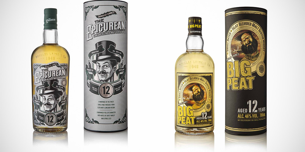 Epicurean 12 Years / Big Peat 12 Years