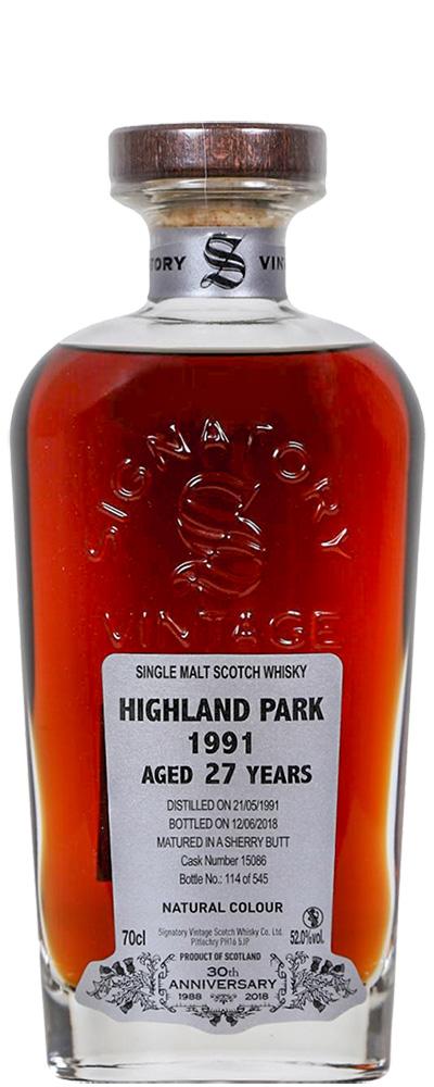 Highland Park 1991 (Signatory 30th Anniversary)
