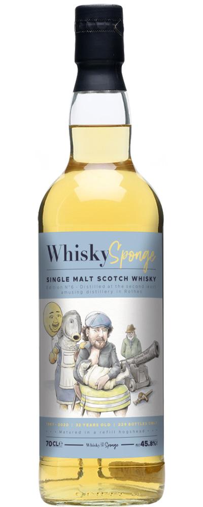 Secret Speyside 1987 (Whisky Sponge)