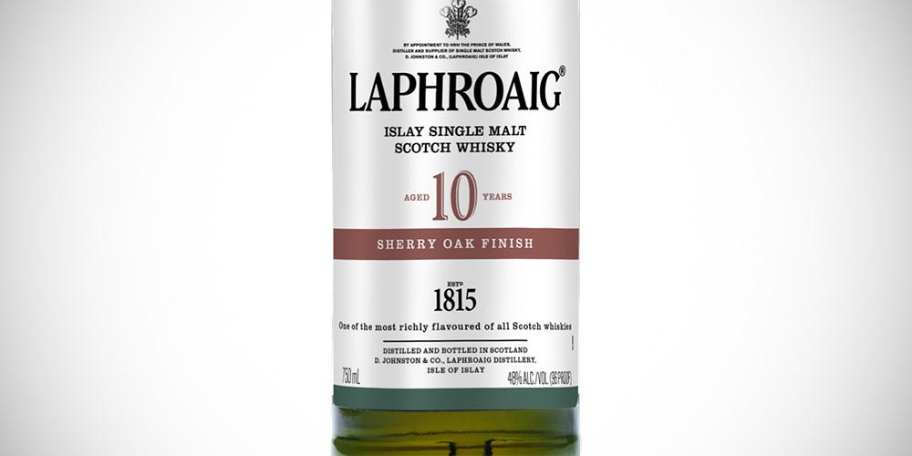 Laphroaig 10 Years Sherry Oak finish