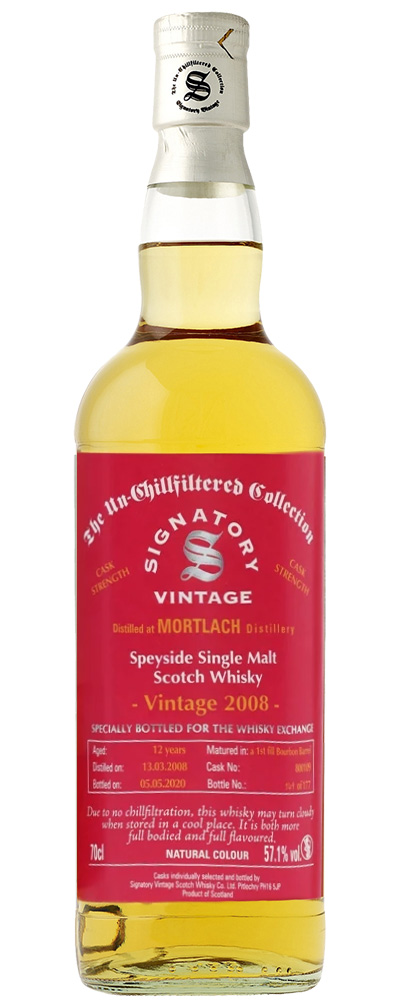 Mortlach 2008 (Signatory for The Whisky Exchange)