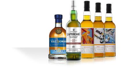 Laphroaig 10 Sherry / Whisky Show 2020 / Kilchoman Genesis