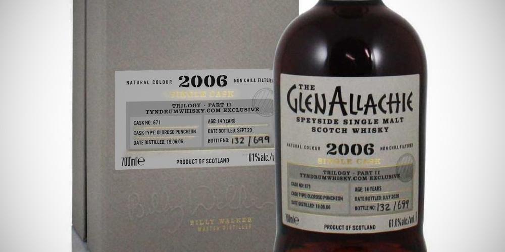 GlenAllachie 2006 Tyndrumwhisky