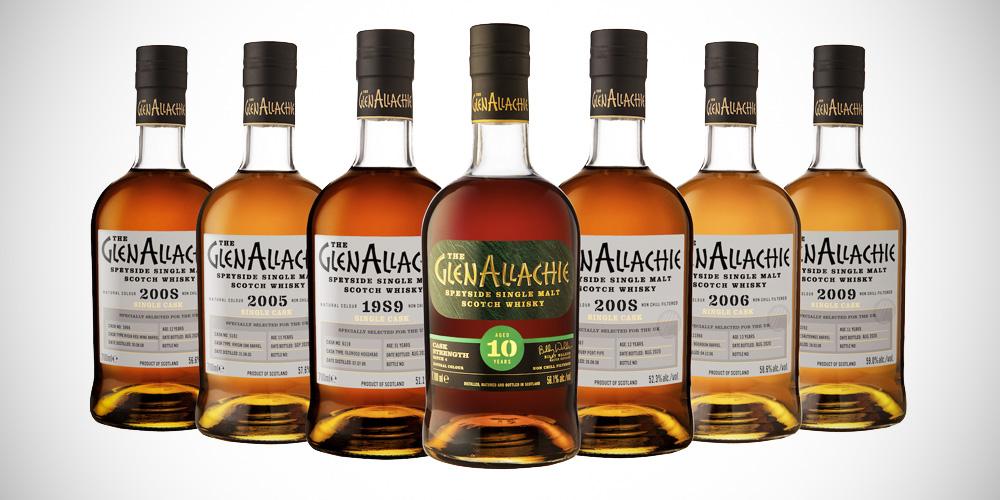 GlenAllachie single cask whisky batch 3