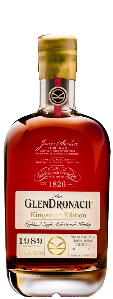 GlenDronach 1989 Kingsman Edition