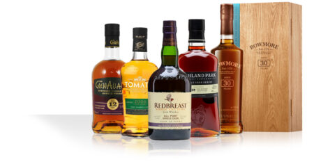Redbreast & Highland Park for TWE / Bowmore 30 / Tomatin Fino