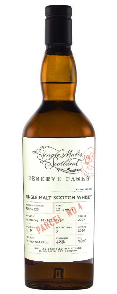 Single Malts of Scotland – Reserve Casks Parcel No.4