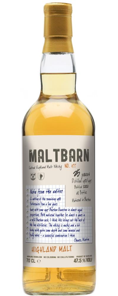 Vatted Highland Malt 1988 + 1995 (Maltbarn)