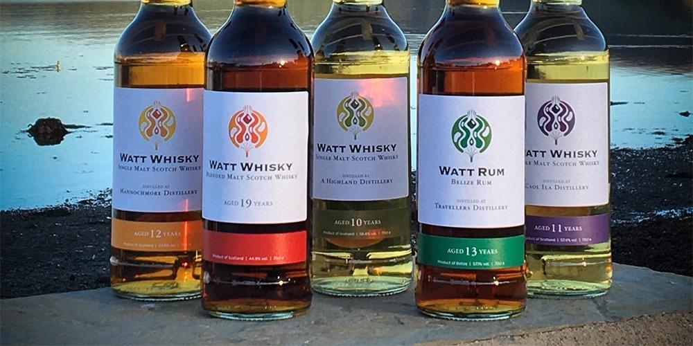 Watt Whisky - first bottlings