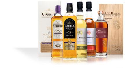 Bushmills 28 Years / Arran 25 Years / Watt Whisky