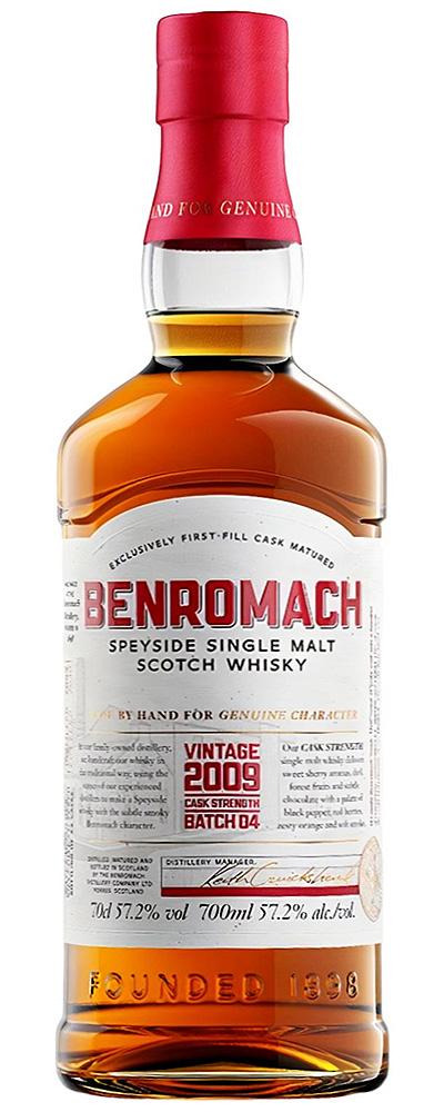 Benromach Cask Strength 2009 (Batch #4)