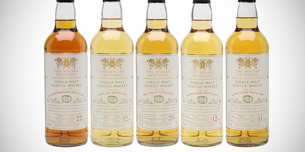 The Whisky Exchange: Ben Nevis / Glen Elgin / Bunnahabhain