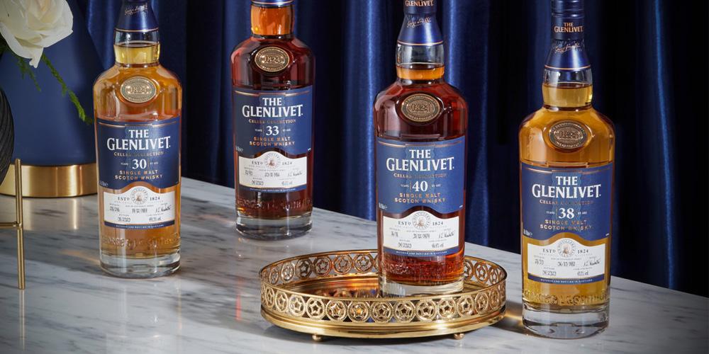 The Glenlivet Cellar Collection