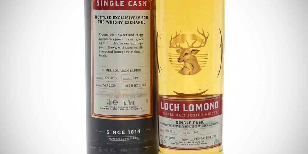 Loch Lomond 2010 - Whisky Exchange exclusive