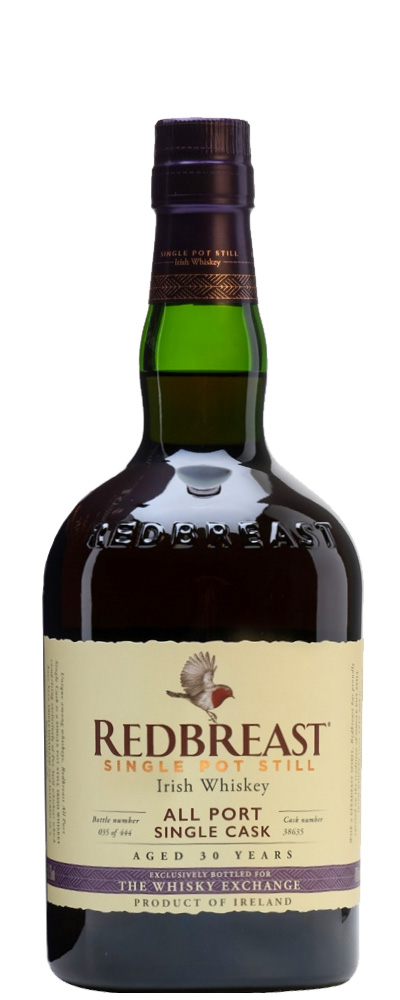 Redbreast 1989 (Port cask #38635 for The Whisky Exchange)