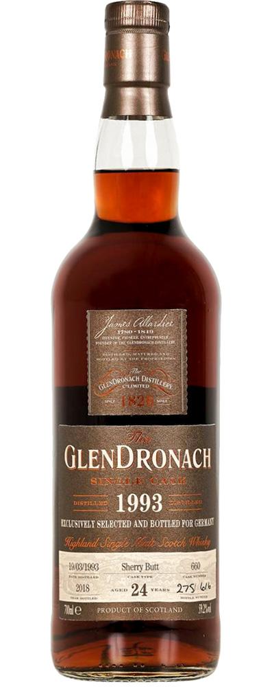 GlenDronach 1993 (cask #660)