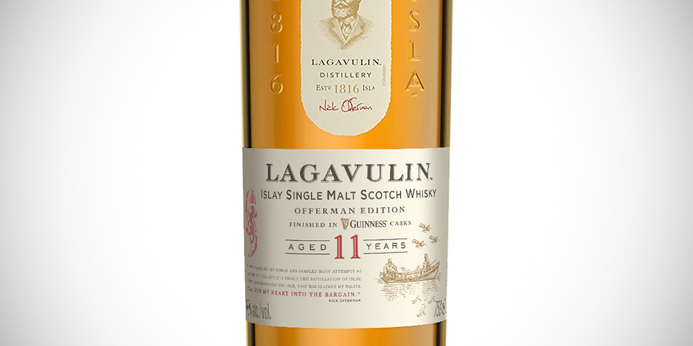 Lagavulin 11 Years Offerman Edition - Guiness finish
