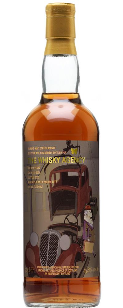 Blended Malt 2001 (The Whisky Agency)