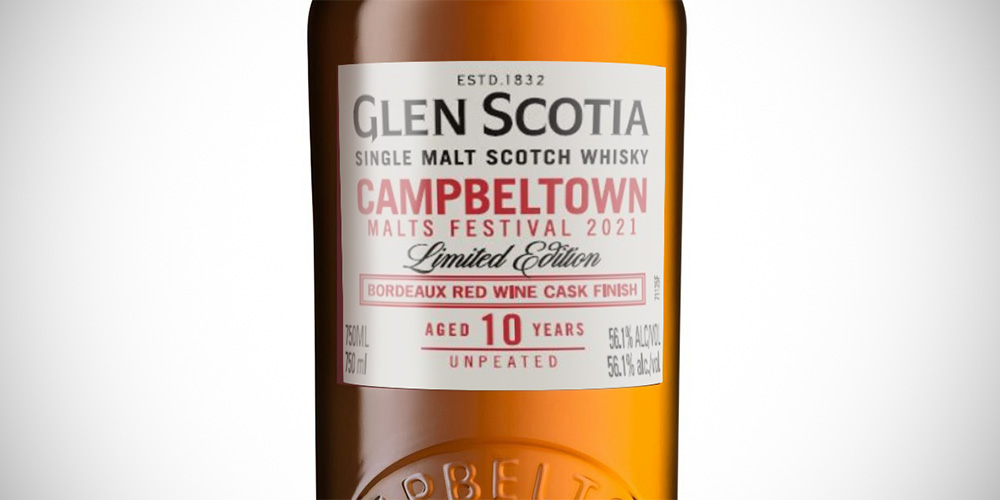 Glen Scotia 10 Years Red Wine - Campbeltown Festival 2021