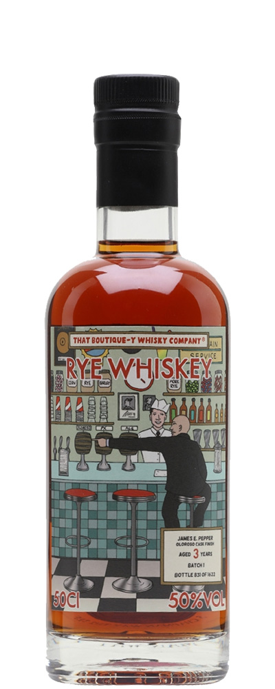 James E. Pepper 3 Years (Boutique-y Whisky)