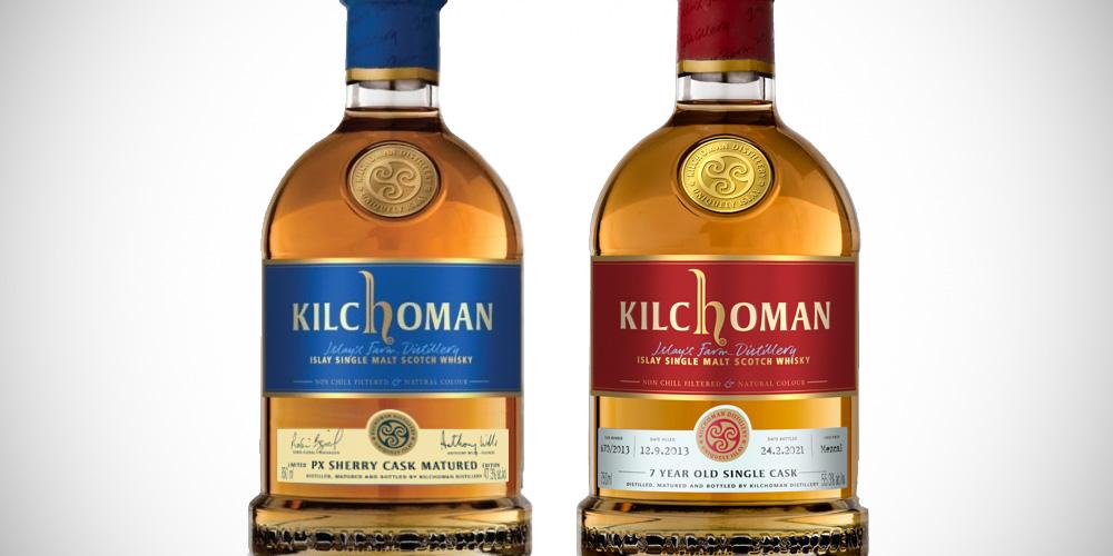 Kilchoman PX Sherry / Kilchoman mezcal single cask